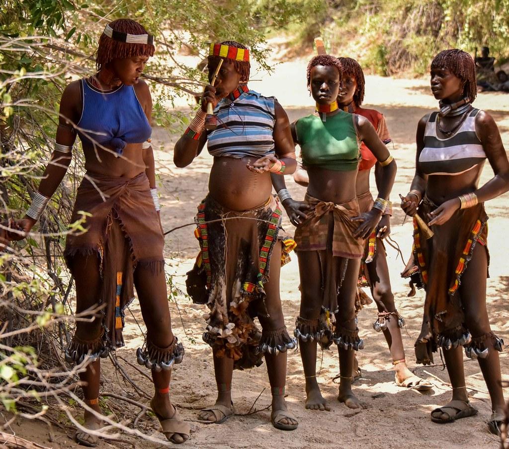 Скрытая камера в африканских племенах