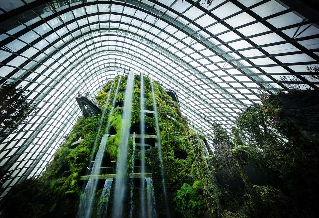 Amazing Indoor Waterfalls
