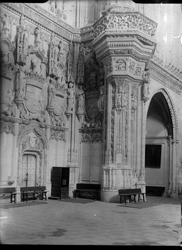 San Juan de los Reyes en Toledo hacia 1920. Fotografía de Enrique Guinea Maquíbar © Archivo Municipal de Vitoria-Gasteiz