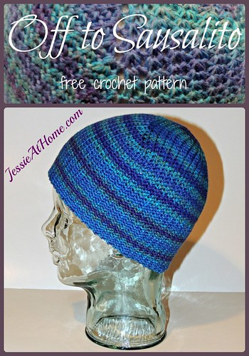 Off to Sausalito ~ free crochet pattern by Jessie At Home
