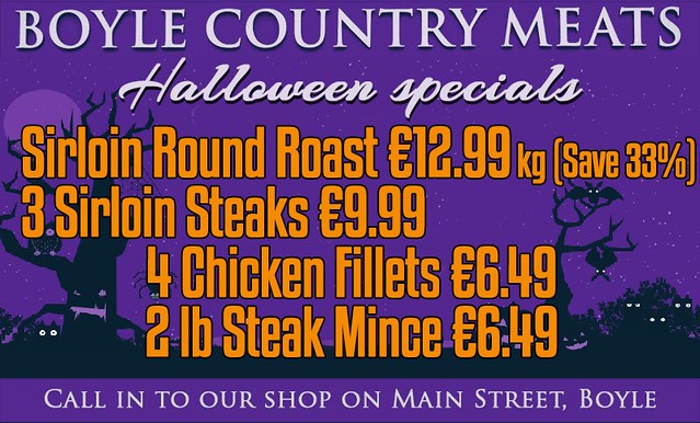 Boyle Country Meats Halloween