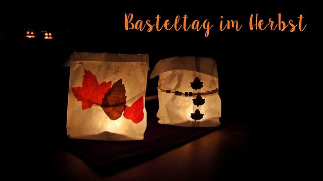 Basteltag Herbst Herbstdeko