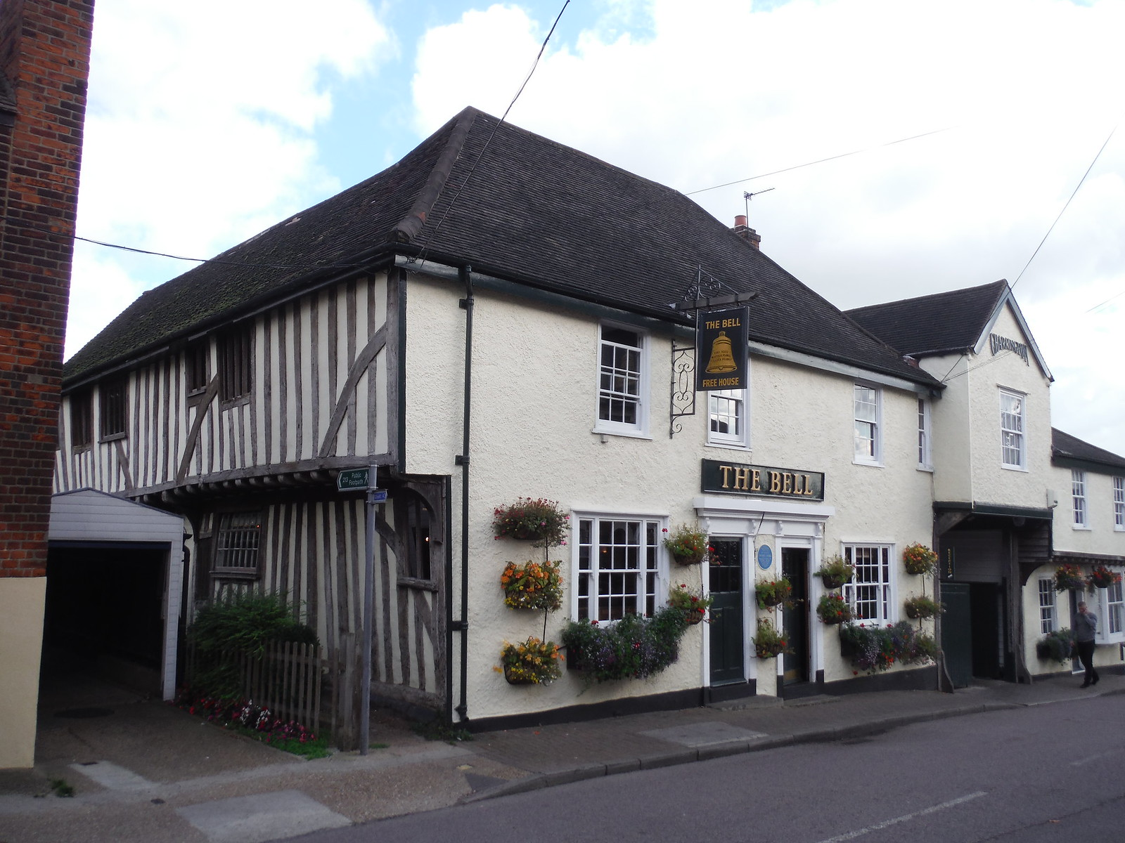 The Bell Inn, Horndon-on-the-Hill SWC Walk 114 Laindon Circular