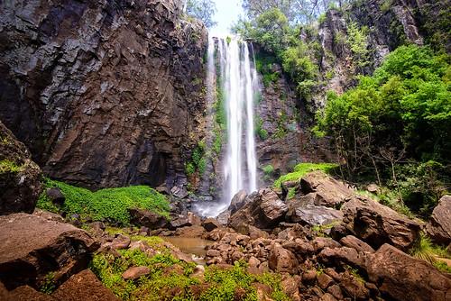 water landscape waterfall rocks queensland mainrangenationalpark queenmaryfalls nikond800 nikon160350mmf40