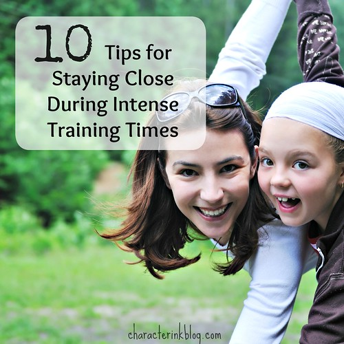 Podcast Notes: 10 Tips for Staying Close During Intense Training Times
