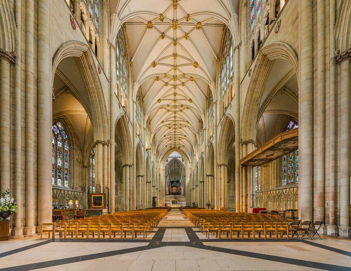 York Minster - The nave of York Minster. Credit: David Iliff