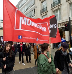 London Stop the War march on Westminster 10th December 2015