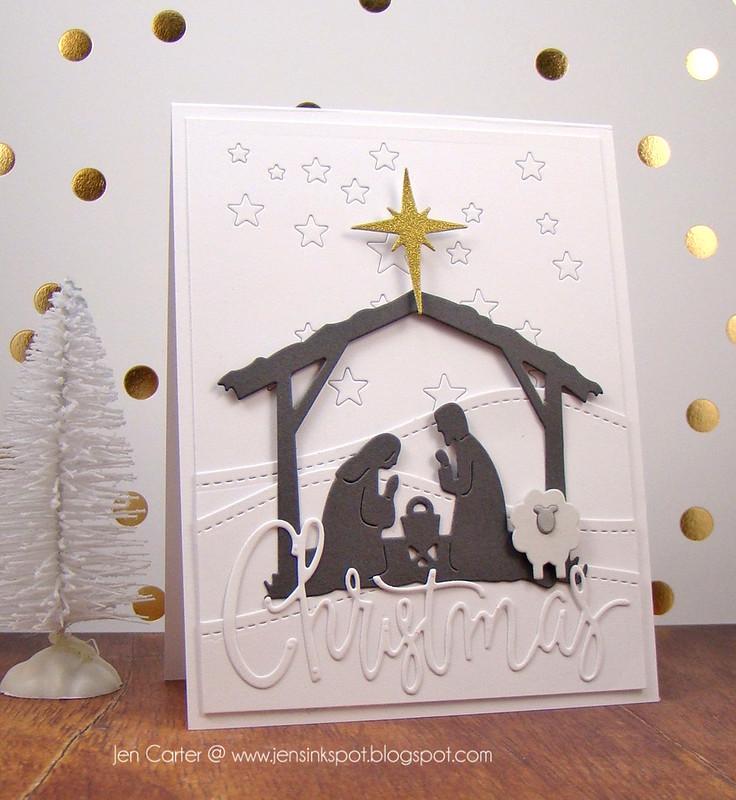 Jen Carter White Nativity 1