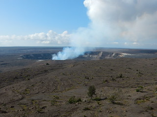 Kilaluea crater & caldera - Hawaii volcanoes national park