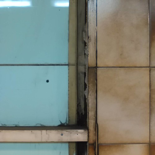 Old tiles of College Station #toronto #ttc #subway #coege #collegestation #tiles