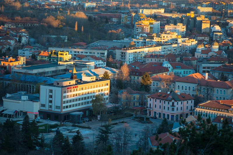 Vratsa panorama view