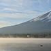 Morning Mt. Fuji  早安富士山in Japan yamanashi prefecture .Lake Kawaguchi 日本山梨縣河口湖 DSC_5588 by Ming - chun ( very busy )
