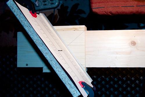 Оптическая скамья для настройки фототехники: поворотная мишеньт