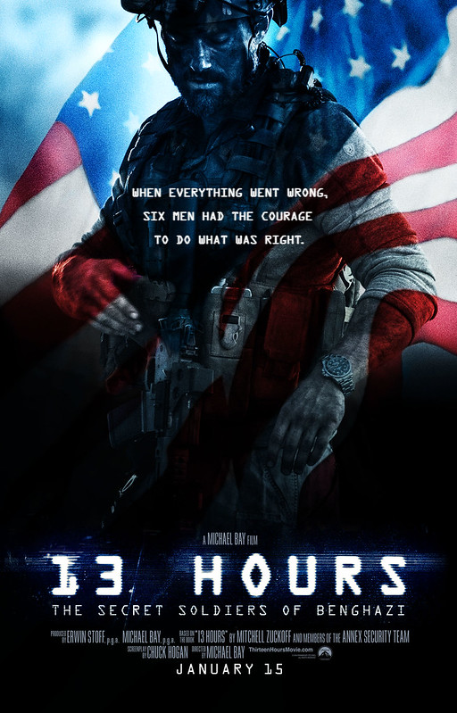 13Hours Teaser Flag Poster