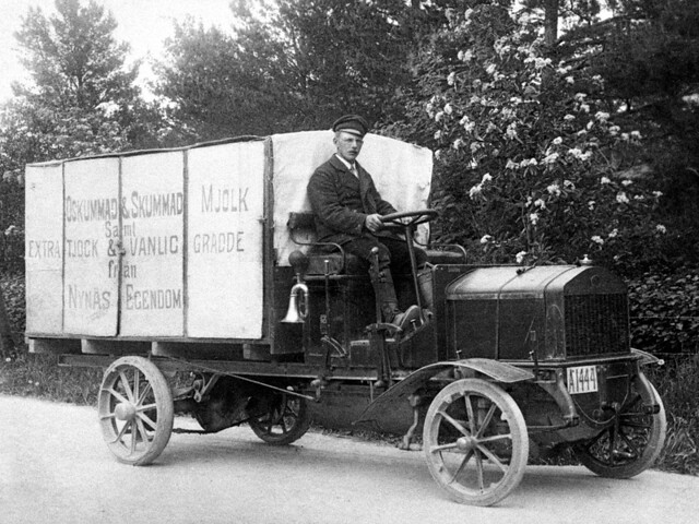 Грузовик Scania-Vabis Truck. 1909 год