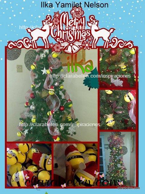 Arbol de Navidad Minions