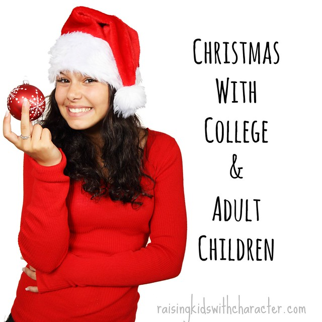 Podcast Notes for Christmas With College and Adult Children