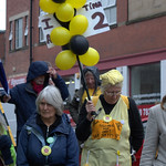 Anti-fracking campaigner Tina Louise Rothery's court case in Preston protest - 6