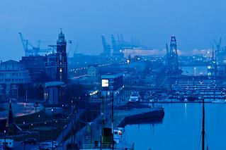 Bremerhaven Blue Hour