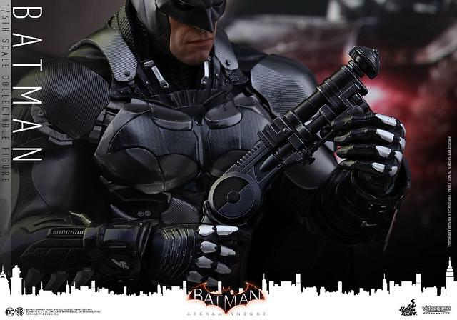 Hot Toys – VGM26 – 蝙蝠俠:阿卡漢騎士【蝙蝠俠】Batman: Arkham Knight 1/6 比例人偶作品