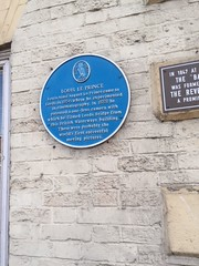 Photo of Louis Le Prince blue plaque