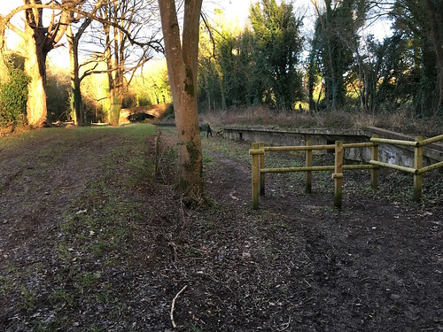 The former West Meon station
