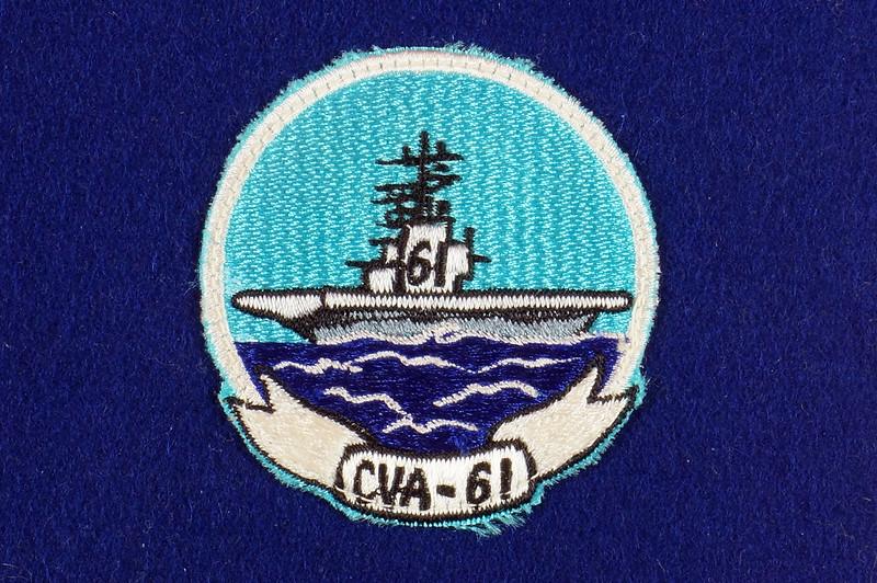 RD15149 Vintage USS Ranger CVA-61 Pennant DSC08473