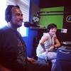 Buenazo el programa de hoy en @ruidoblancofm con mi Jefa Olivia Luna y Charlie Montero (que no tengo foto con él). Gran tarde :v::grinning: