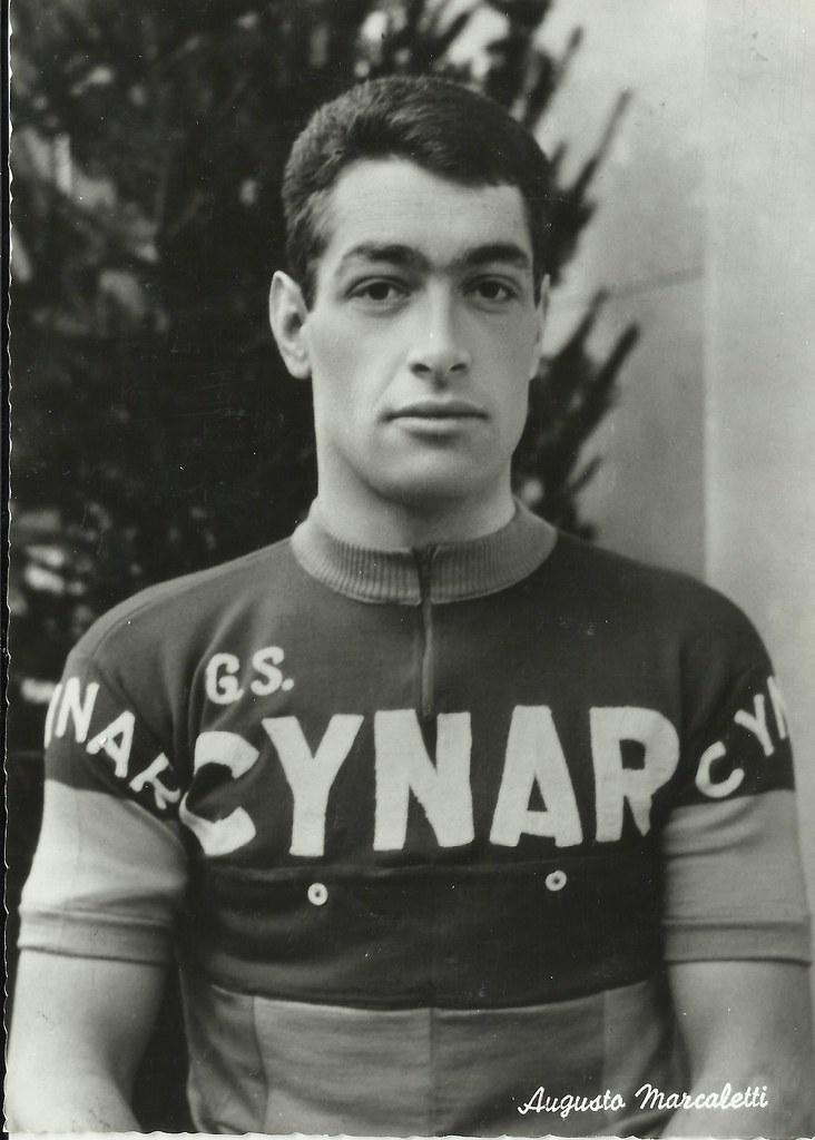 Marcaletti Augusto maglia Cynar - foto inviata dalla figlia Barbara