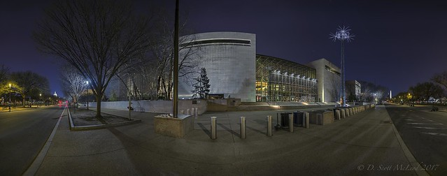 National Air and Space Museum Pano