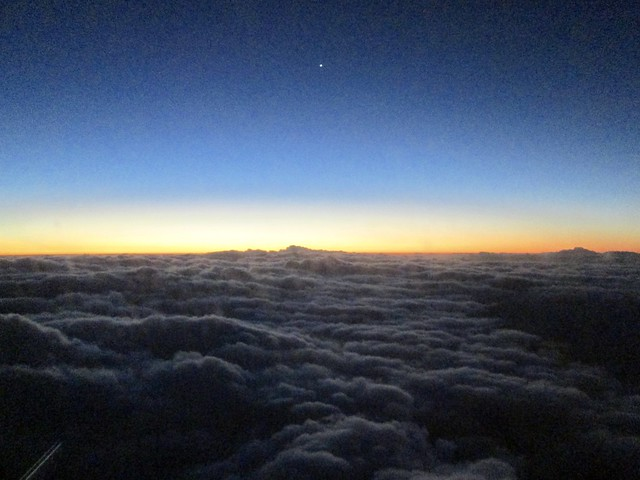 Atop the clouds