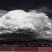 Thunderhead over the Sandias by CaZen