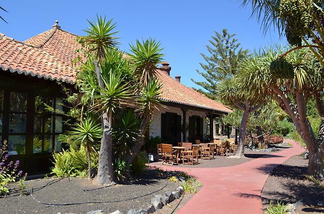 Gardens and terrace, Parador, San Sebastian, La Gomera