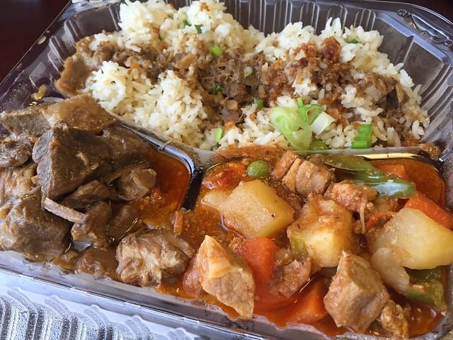 Pork adobo & pork menudo - Inay Filipino Kitchen