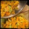 #Homemade #PastaAiFioriDiZucca #CucinaDelloZio - while pasta... Add the blossoms