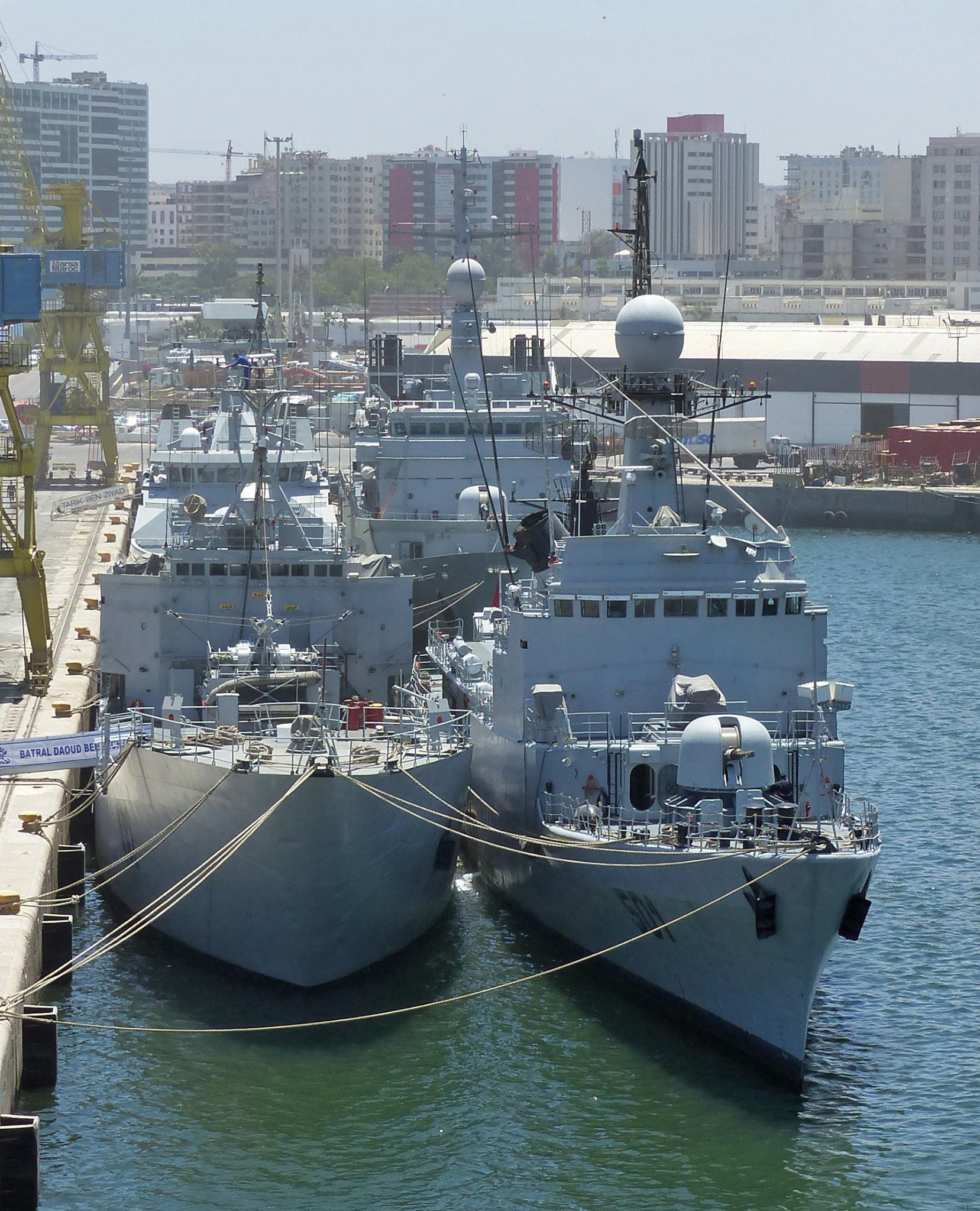 Royal Moroccan Navy Descubierta Frigate / Patrouilleur Océanique Lt Cl Errahmani - Bâtiment École - Page 2 20843290812_d6157cf3bf_k