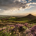 Dusk at Roseberry Topping by Mark Southgate