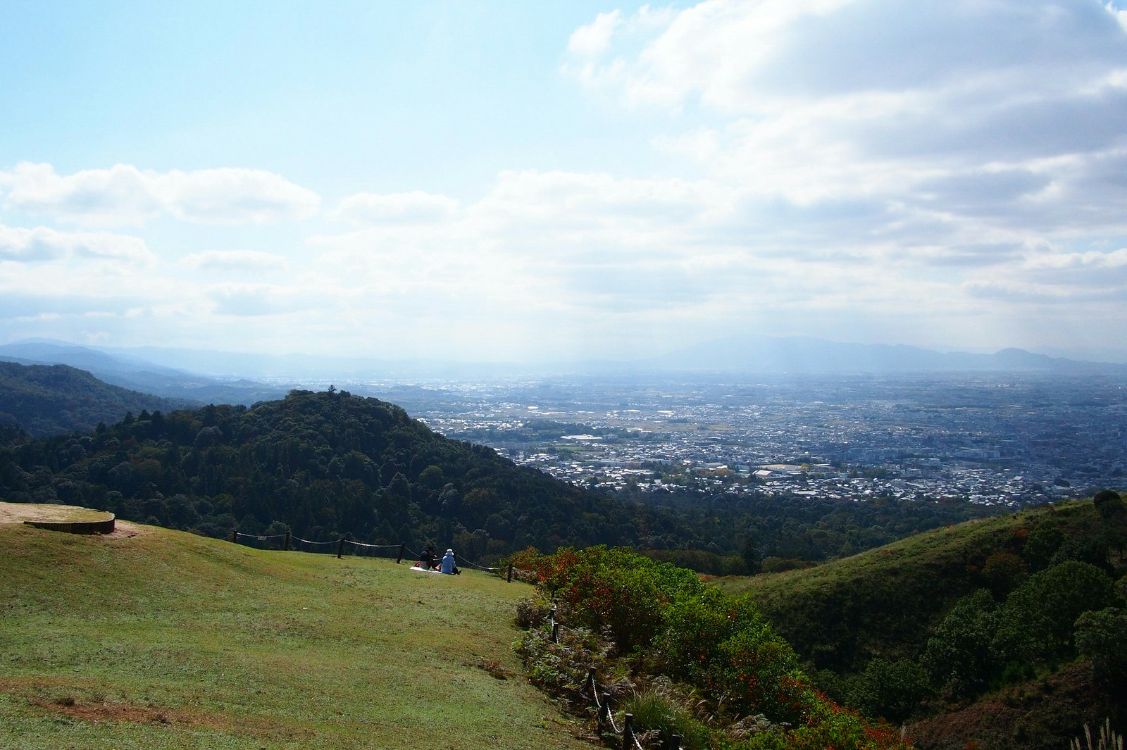 View from Mount Wakakusayama