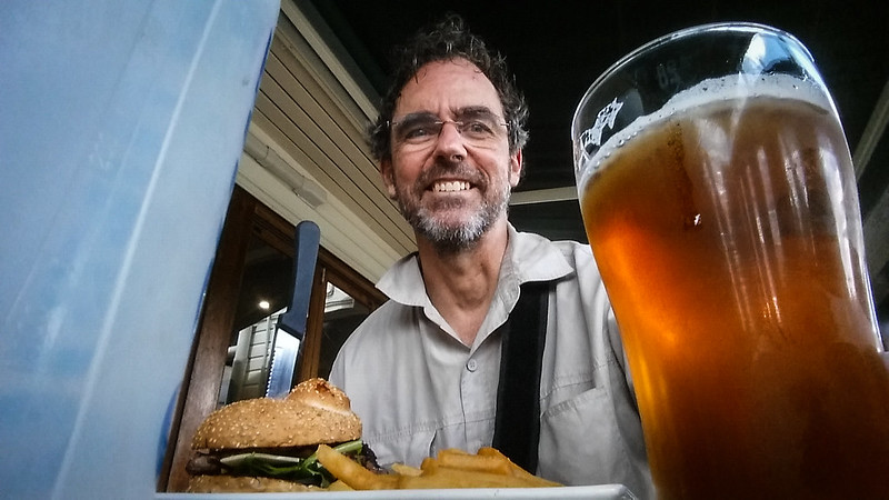 Beer at the Maleny Pub