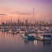 St Kilda marina at sunset, Melbourne by JPS Images