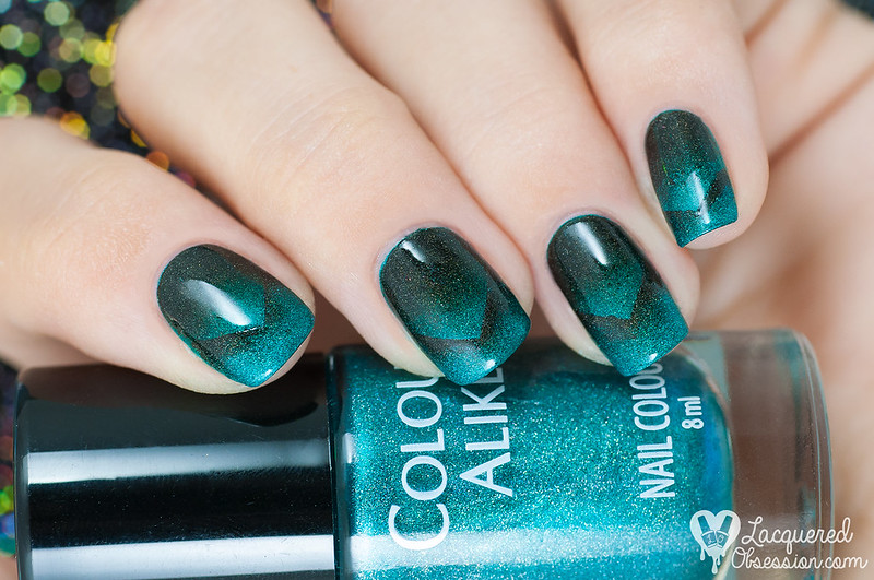 31DC2015 Day 10: Gradient nails