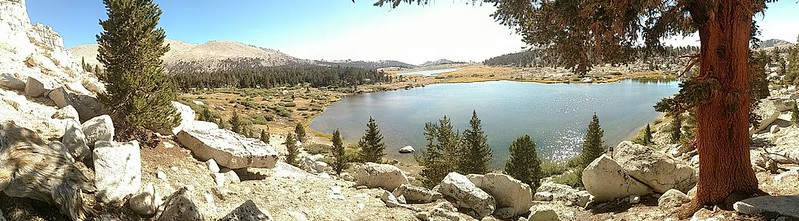 Panorama from the western side of Cottonwood Lake Number 2