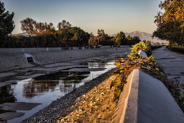 Rio Hondo riverbed