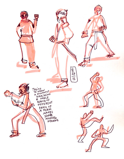 Sketchbook #92: Life Drawing Class