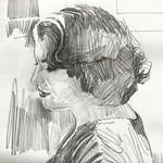 Little Gem. #2 (detail). Pencil. ALAN MORLEY.