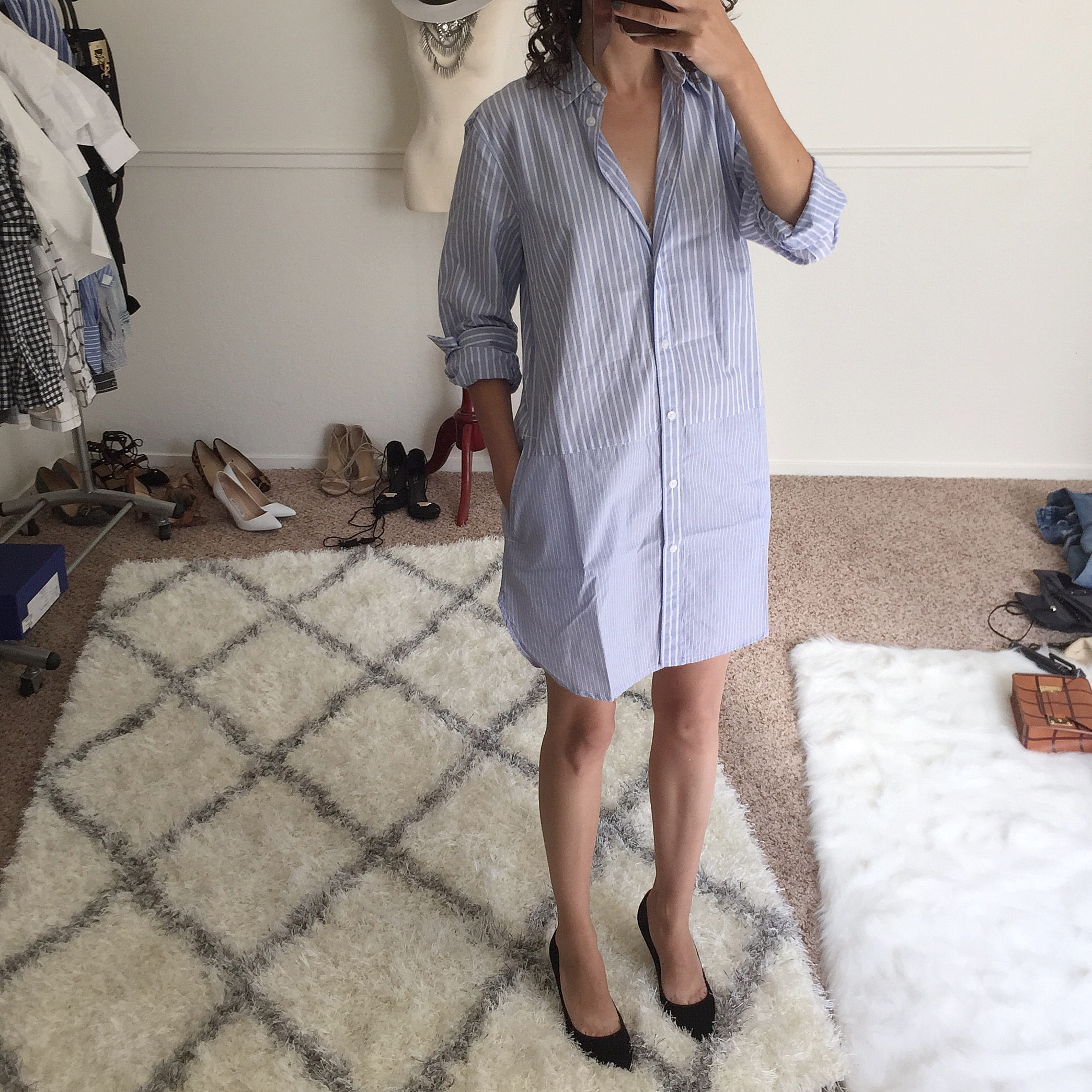 madewell tunic with pockets review