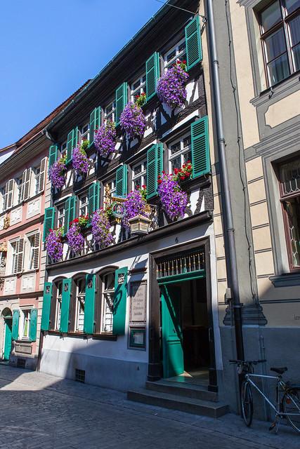 Schlenkerla - historic brewpub. Bamberg. Upper Franconia, Bavaria, Germany