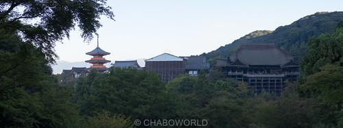 清水寺 Kiyomizutera panorama