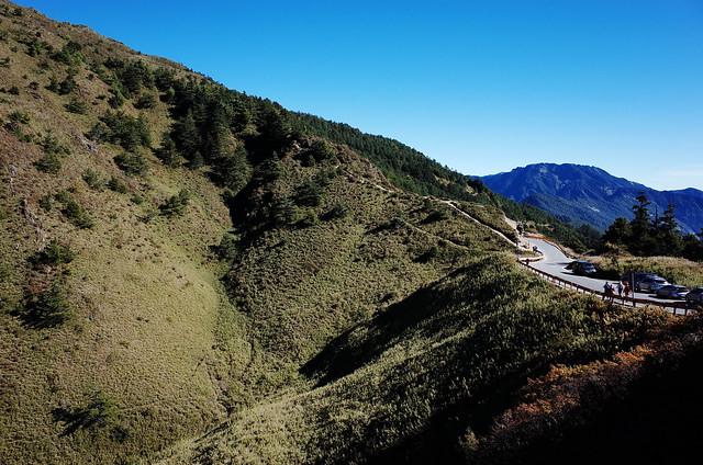 合歡山北峰登山口