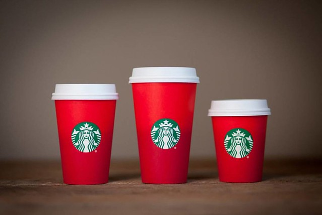 Now @Starbucks is ignoring Christmas with their non-Christmas coffee cups. They are claiming they made the cups blank only to allow the customer to decorate the cups in their own holiday inspired ways. Much like people have done and do with the white cups